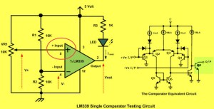 Battery Monitor Using LM339 IC my board in 2018 t