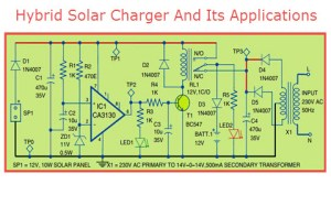 Hybrid Solar Charger Circuit Design, Working and its