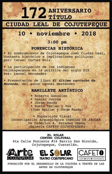 Actividades a desarrollar, hoy 10 de noviembre.