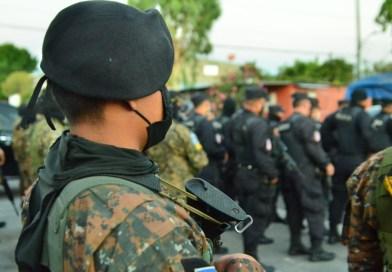 PNC y Fuerza Armada despliegan fuerte operativo en colonia Guayacán Soyapango