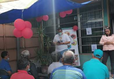 FEUMA El Salvador celebró el día del padre a los papás olvidados