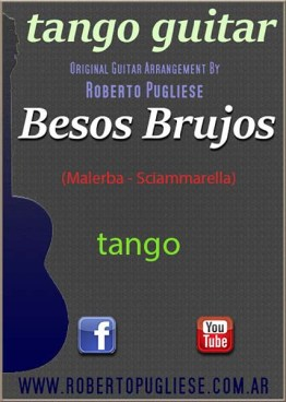 Besos brujos 🎼 tango guitarra