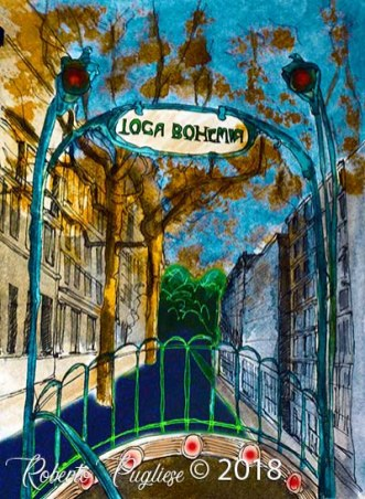 loca bohemia titulo - Obra perteneciente al video de tango Loca Bohemia por Roberto Pugliese (2)