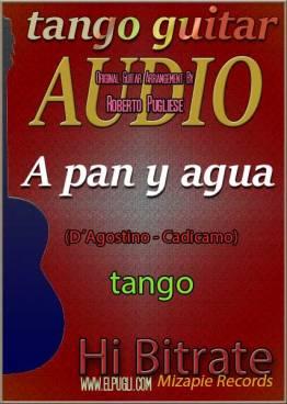 A pan y agua 🎵 mp3 tango en guitarra