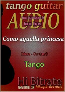 Como aquella princesa 🎶 mp3 tango en guitarra