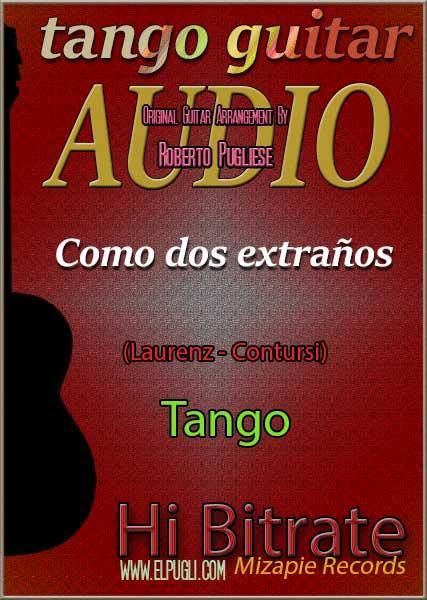 Como dos extraños 🎵 mp3 tango en guitarra
