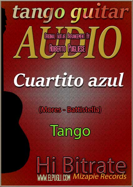 Cuartito azul 🎵 mp3 tango en guitarra