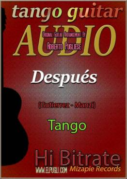 Despues 🎵 mp3 tango en guitarra