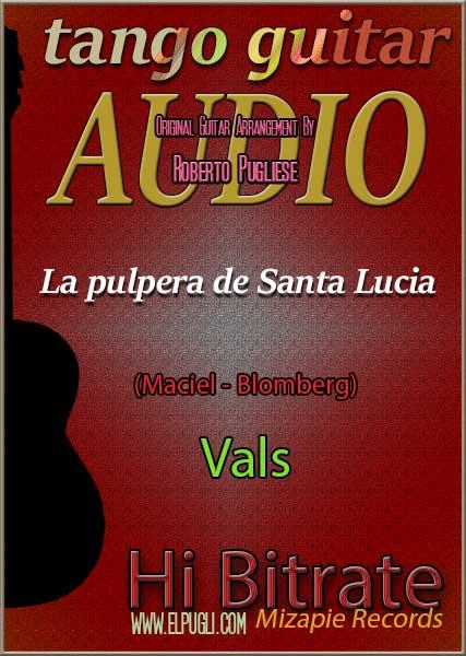 La pulpera de Santa Lucia 🎵 mp3 vals en guitarra