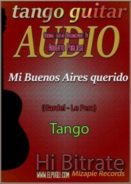 Mi Buenos Aires querido 🎵 mp3 tango en guitarra