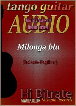 Milonga blu 🎶 mp3 milonga en guitarra.