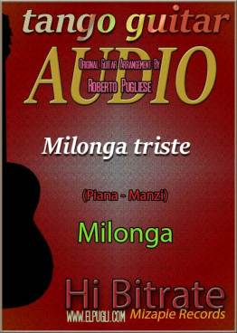 Milonga triste 🎶 mp3 milonga en guitarra