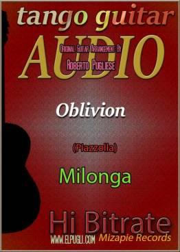 Oblivion milonga en guitarra