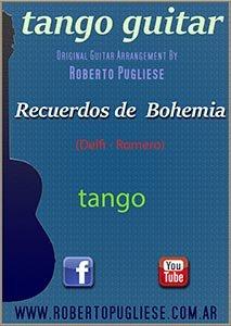 Recuerdos de bohemia – partitura del tango en guitarra. Con video