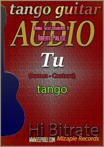 Tu 🎵 mp3 tango en guitarra