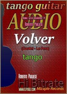 Volver 🎵 mp3 tango en guitarra
