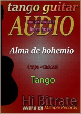 Alma de bohemio 🎵 mp3 tango en guitarra. Con partitura