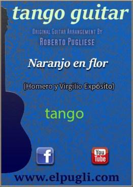 Naranjo en flor tango partitura de guitarra