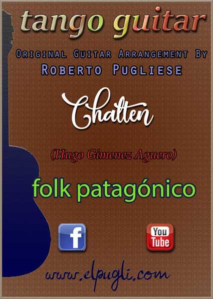 Chaltén 🎼 partitura para guitarra. Con video y mp3 gratis