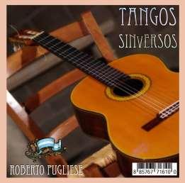 """Tapa cd """"Tangos sin versos 1"""" de Roberto Pugliese"""