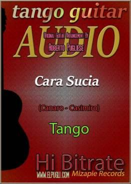 Cara sucia 🎵 mp3 tango clásico en guitarra