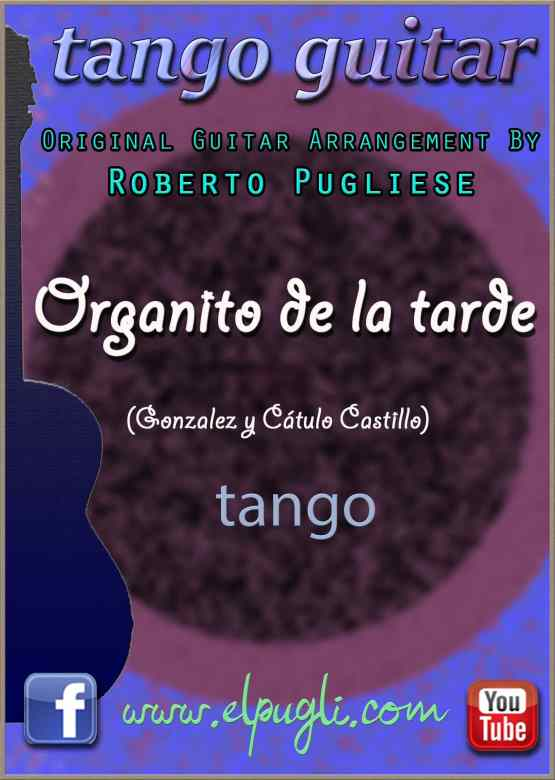 Organito de la tarde 🎼 Score classical guitar. Mp3 free