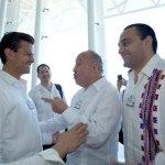 Cordial Encuentro Entre El Gobernador De Q Roo Y Candidato Presidencial En El Marco Del Foro Económico Mundial Sobre América Latina
