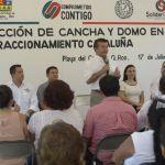 Mauricio Góngora fortalece a través de obras públicas el esparcimiento familiar