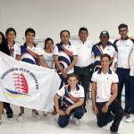 Despiden a la delegación de Quintana Roo rumbo a Copa Mabarak 2014