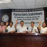 Se conforma en Solidaridad el Consejo Municipal de Seguridad Pública