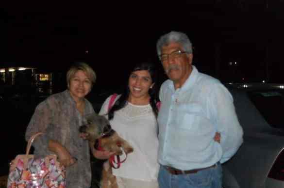 Grecia Violeta Modesto ORIGEN: Puebla DESTINO: Chetumal Quintana roo MOTIVO: viene para pasar el fin de semana con sus padres José Ángel Modesto y Edith Prieto.