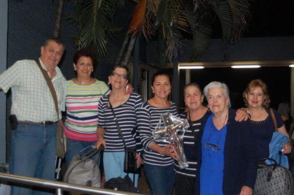 La Familia Díaz Albarran ORIGEN: Toluca Estado de México DESTINO.- Chetumal Quintana Roo MOTIVO: Vienen a disfrutar de una semana de vacaciones fueron recibidos por Angélica Arizmendi.