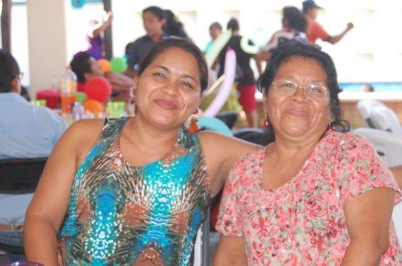 Martha López y Maura Álvarez