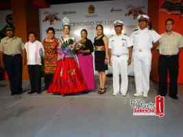 Autoridades presentes en el magno evento