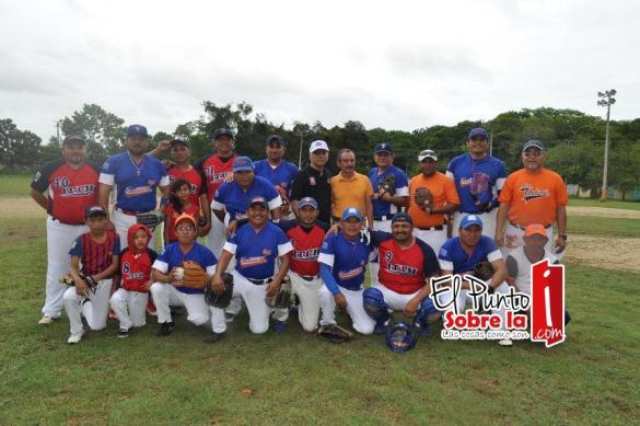 Y el equipo anfitrión del Instituto Tecnológico de Chetumal.