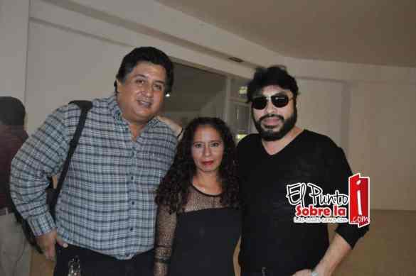 Hector Tenorio, Mayra Sierra y Gonzalo Hermosillo.