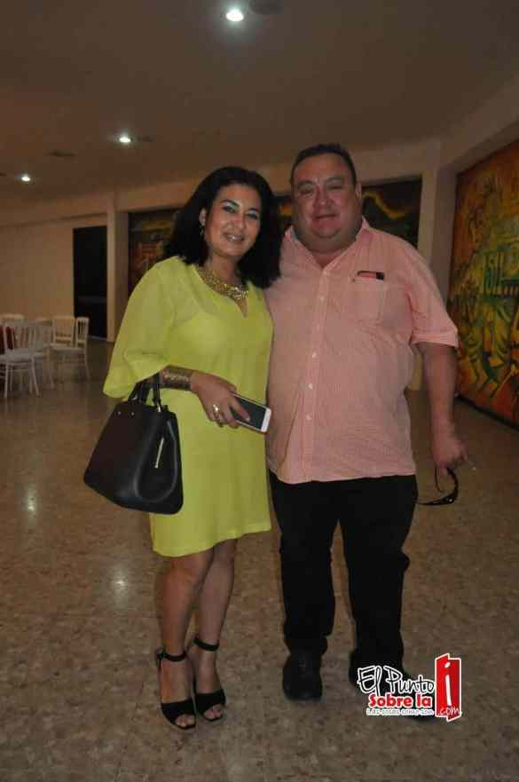 Carlos Pérez Zafra y Fátima Vázquez
