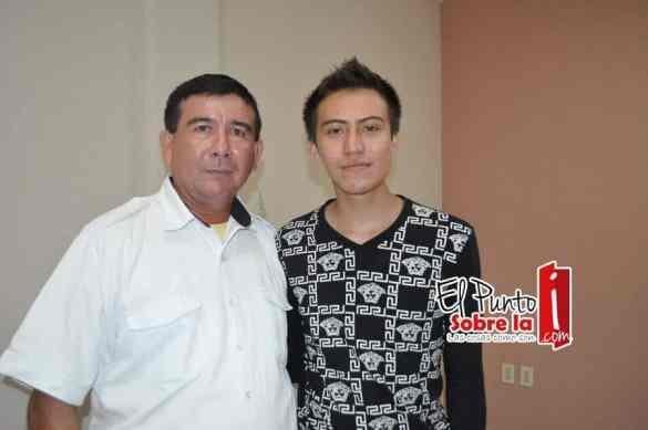 Ramón Manzanares Torres y Eddy Manzanares Cruz.
