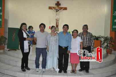 Con la Familia Caamal Castro.