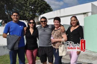La familia Pantoja Córdova asistieron al aniversario 36 del Zoológico de Chetumal.