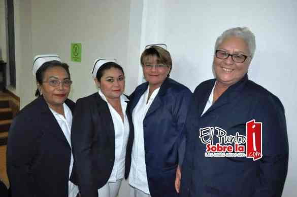 María Cruz López, Genny Campos, Claribel Bobadilla y Magdalena Ruiz.