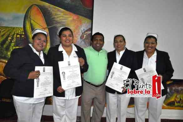 Micaela Be Cituk, Marcela Hernández Gutiérrez, Columba Rivera Cuevas y Elvira Maldonado Villanueva.