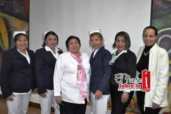 Julia María Buenfil Pix, Fraby Barrera, Leidy Valadez, Orfelina Villamil Sierra, Adela Tadeo y Claudia Benítez