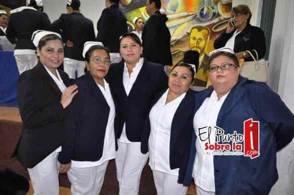 Patricia Mayoral Hinojosa, María Cruz López, María Luisa Carrillo Berdejo, Genny Moo y Magaly Amaro Escalante.