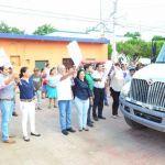 Inician operaciones de recoja en la cabecera municipal