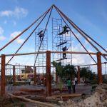 Constante supervisión de los avances en las obras de los parques Las Iguanas y Las Hormiguitas Obreras
