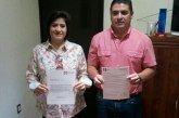Renuncian Jorge Aguilar y Gina Santin a la Dirigencia del PRI en OPB