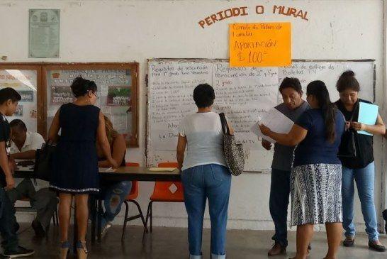 """Duplican monto de las """"Aportaciones Voluntarias"""" en escuelas"""