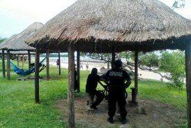 Resguarda Policía Estatal, seguridad en balnearios y centros comerciales