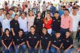 Convoca Laura Fernández a los jóvenes a trabajar por un mejor Puerto Morelos